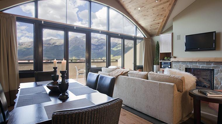 Property LumiereTelluride 1 Hotel GuestroomSuite TwoBedroomPenthouse LivingRoom CreditLumiereTelluride