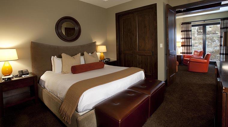 Property LumiereTelluride 6 Hotel GuestroomSuite StudioSuite MasterBedroom CreditLumiereTelluride