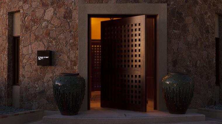 Property LunayMarSpa Spa Entrance TheResortatPedregal