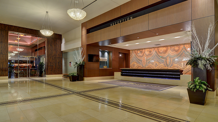 Property MGMGrandDetroit Hotel PublicSpaces Reception MGMResortsInternational