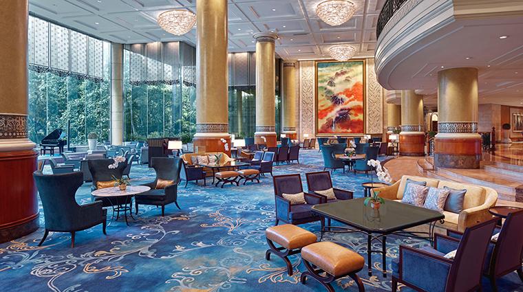 Property MakatiShangriLa Hotel BarLounge LobbyLouge ShangriLaInternationalHotelManagementLtd