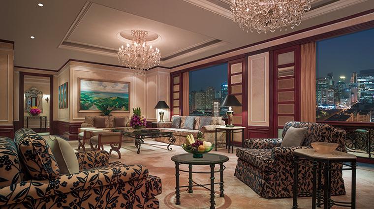 Property MakatiShangriLa Hotel GuestroomSuite PresidentialSuiteLivingRoom ShangriLaInternationalHotelManagementLtd