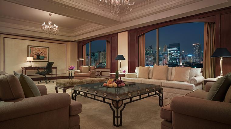 Property MakatiShangriLa Hotel GuestroomSuite SpecialtySuiteLivingRoom ShangriLaInternationalHotelManagementLtd