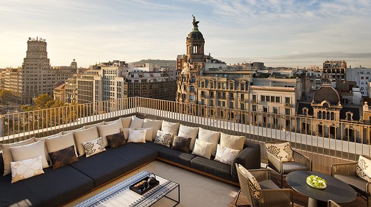 Property MandarinOrientalBarcelona Hotel GuestroomSuite PenthouseTerrace MandarinOrientalHotelGroup