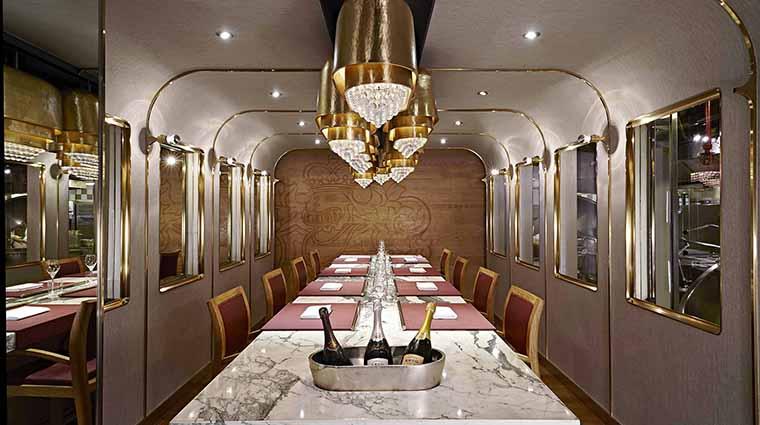 Property MandarinOrientalHongKong Restaurant Dining FrontalLongDiningTableKrugRoom CreditMandarinOrientalHotelGroup