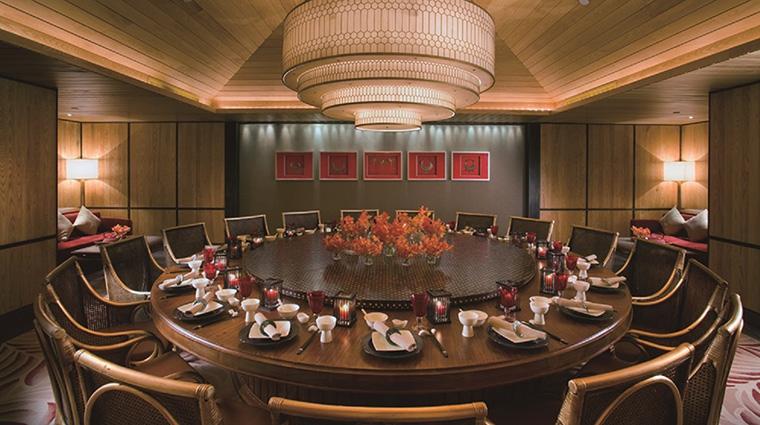 Property MandarinOrientalSanya Hotel Dining YiYangPrivateDiningRoom MandarinOrientalHotelGroup