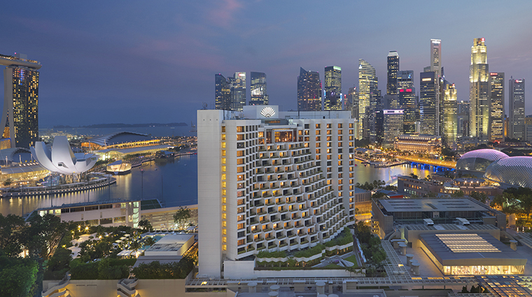 Property MandarinOrientalSingapore 1 Hotel Exterior ArialView CreditMandarinOrientalSingapore