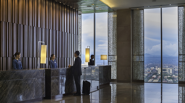 Property MarcoPoloOrtigas Hotel PublicSpaces SkyLobby MarcoPoloHotels