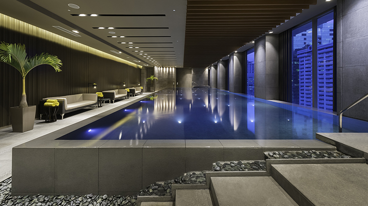 Property MarcoPoloOrtigas Hotel PublicSpaces SwimmingPool MarcoPoloHotels