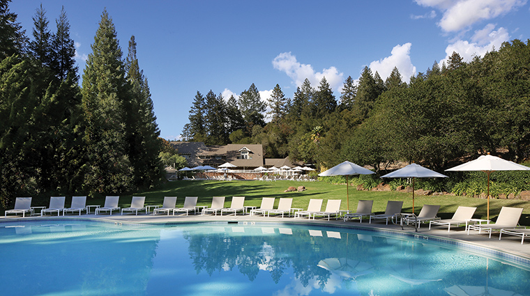 Property MeadowoodNapaValley Hotel PublicSpaces FamilyPool MeadowoodNapaValley