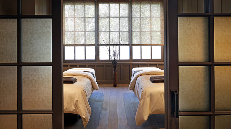 Property MeadowoodNapaValley Hotel Spa CouplesTreatmentSuite MeadowoodNapaValley