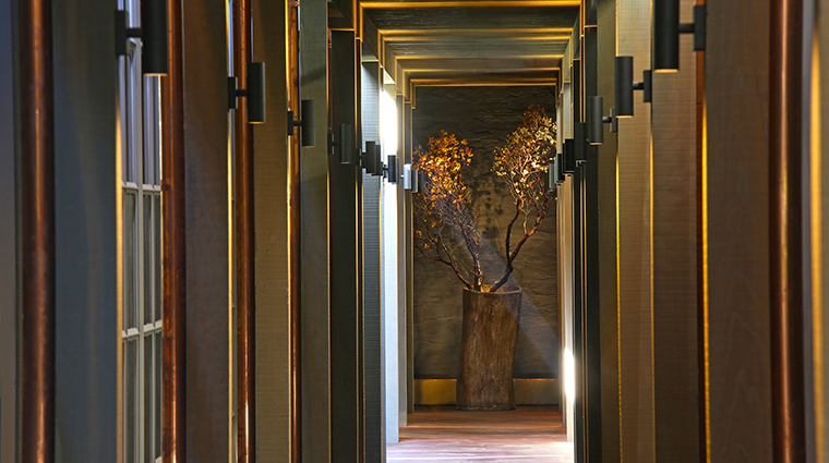 Property MeadowoodSpa Spa Hallway MeadowoodNapaValley