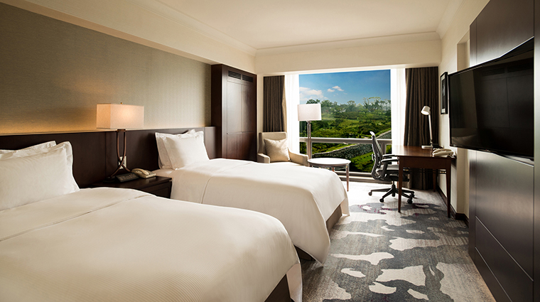 Property MillenniumSeoulHilton Hotel GuestroomSuite DeluxeTwinMountainView HiltonWorldwide