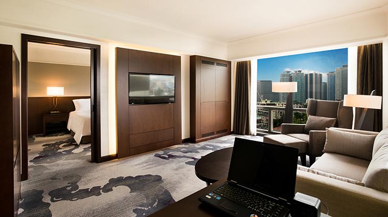 Property MillenniumSeoulHilton Hotel GuestroomSuite ExecutiveSuiteLivingRoom HiltonWorldwide