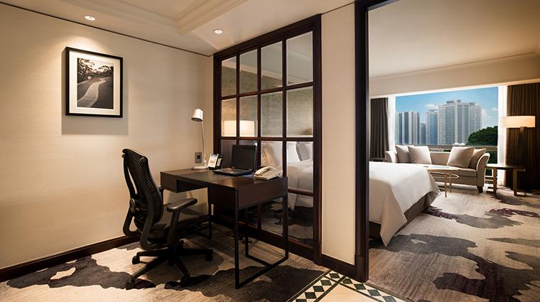 Property MillenniumSeoulHilton Hotel GuestroomSuite JuniorSuiteLivingRoom HiltonWorldwide