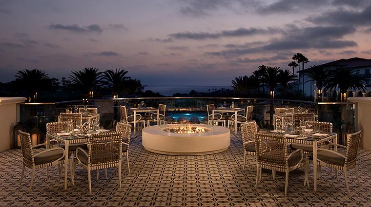 Property MonarchBeachResort Hotel Dining AVEOTableandBarPatio KSLResorts