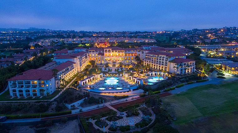 Property MonarchBeachResort Hotel Exterior AerialViewatNight KSLResorts
