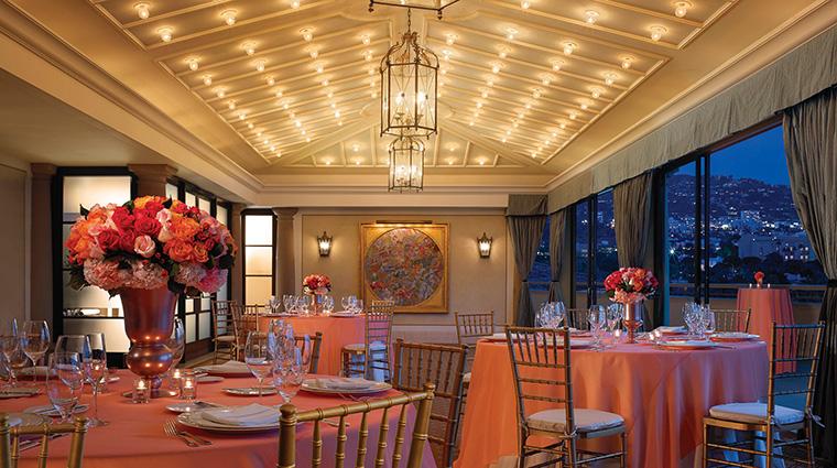 Property MontageBeverlyHills Hotel Dining ConservatoryDiningRoom MontageHotels&Resorts