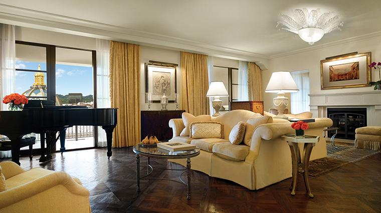 Property MontageBeverlyHills Hotel GuestroomSuite PresidentialSuiteLivingRoom MontageHotels&Resorts