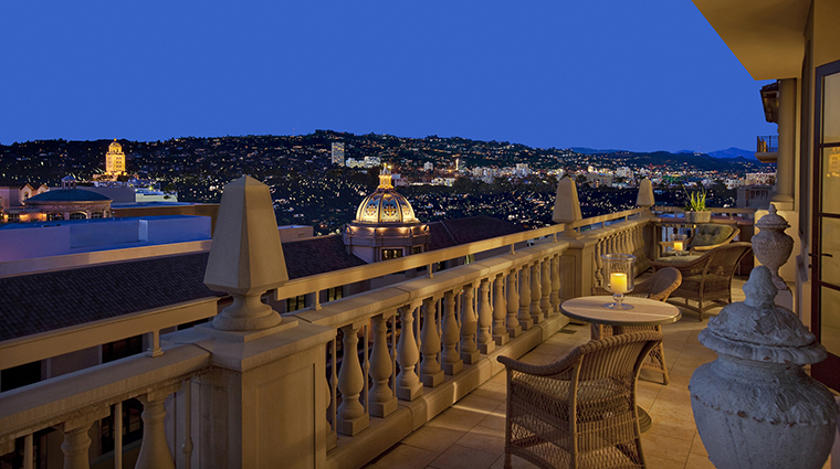 Property MontageBeverlyHills Hotel PublicSpaces RooftopView MontageHotels&Resorts