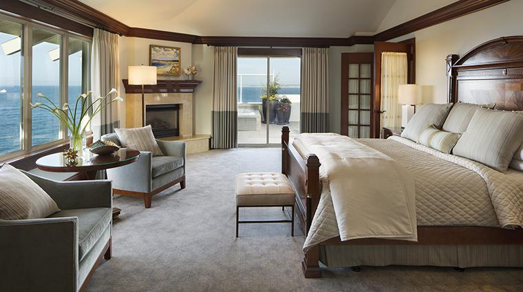 Property MontereyPlazaHotel&Spa Hotel GuestroomSuite PresidentialSuiteBedroom WoodsideHotels