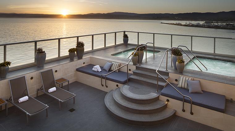 Property MontereyPlazaHotel&Spa Hotel Spa VistaBlueSpaOutdoorSunDeck WoodsideHotels