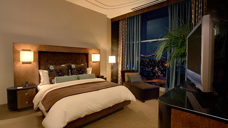 Property MotorCityCasinoHotel Hotel GuestroomSuite SuiteBedroom2 DetroitEntertainmentLLC