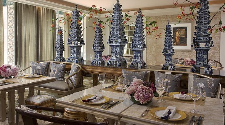 Property MuliaVillasatTheMulia Hotel Dining Table8 TheMulia