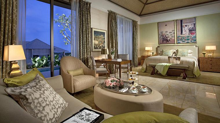 Property MuliaVillasatTheMulia Hotel GuestroomSuite OneBedroomVillaBedroom TheMulia
