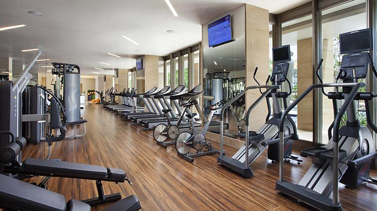 Property MuliaVillasatTheMulia Hotel PublicSpaces FitnessCenter TheMulia