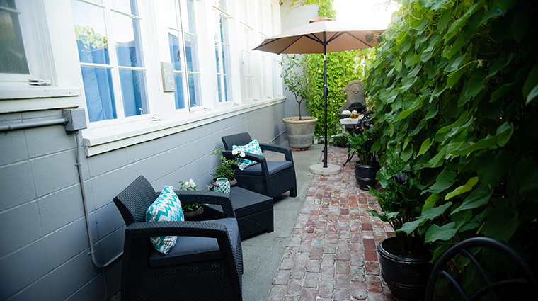 Property NapaRiver Hotel PublicSpaces OutdoorSeating NapaRiverInn
