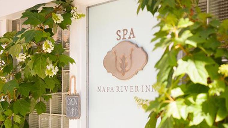 Property NapaRiver Hotel Spa SpaEntrance NapaRiverInn