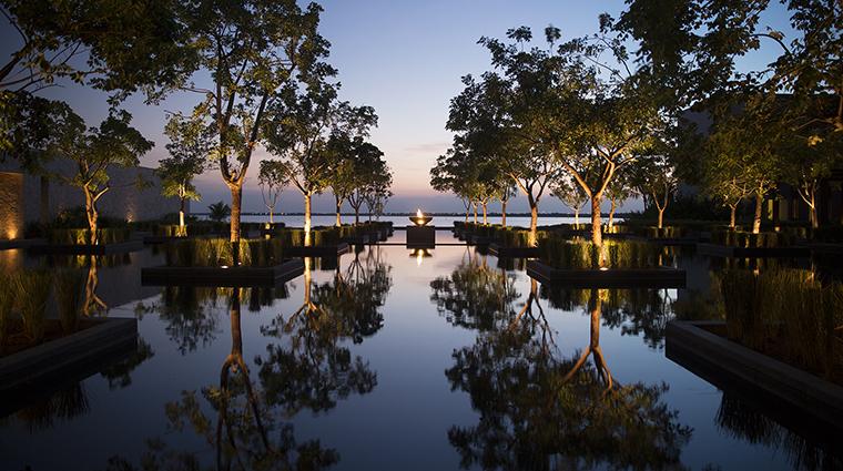 Property NizucResort&Spa Hotel PublicSpaces ReflectionPool LasBrisasHotelCollection