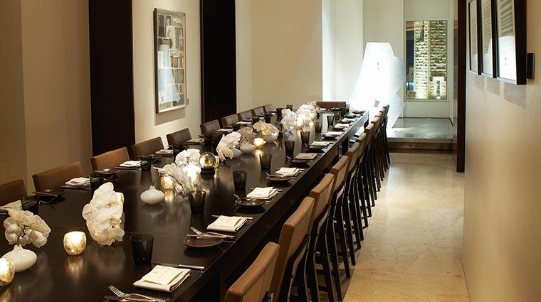Property NoMI Restaurant ArtGalleryPrivateDining CreditHyattCorporation