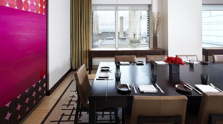 Property NoMI Restaurant PrivateDiningRoom CreditHyattCorporation