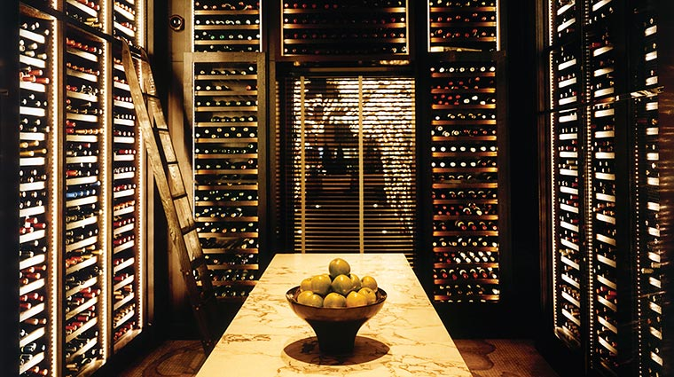Property NoMI Restaurant WineCellar CreditHyattCorporation