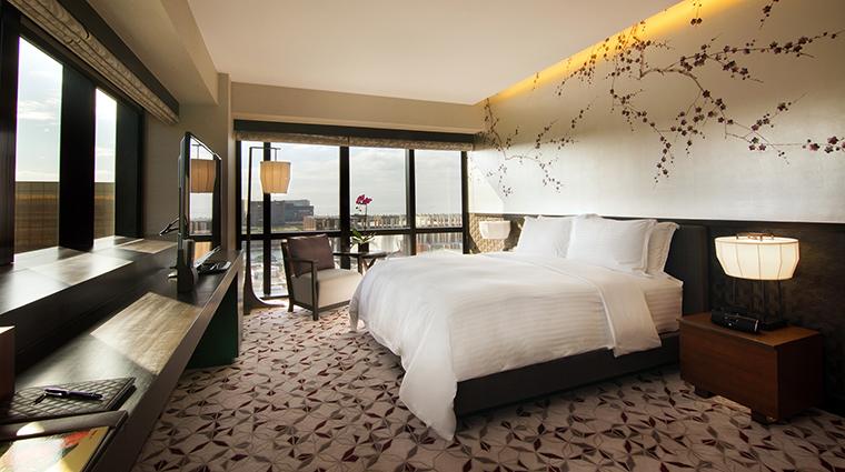 Property NobuHotelManila Hotel GuestroomSuite SuiteBedroom CityofDreamsManila