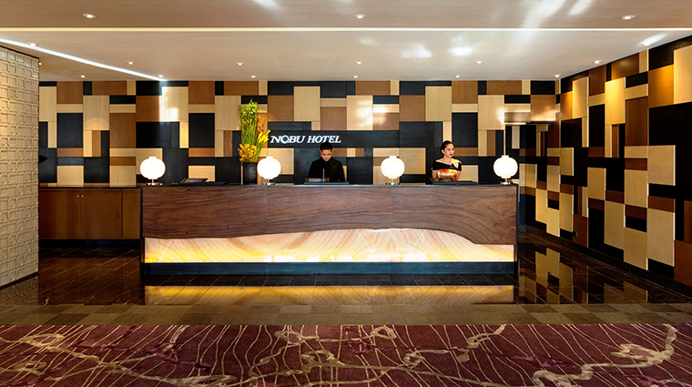 Property NobuHotelManila Hotel PublicSpaces Reception CityofDreamsManila