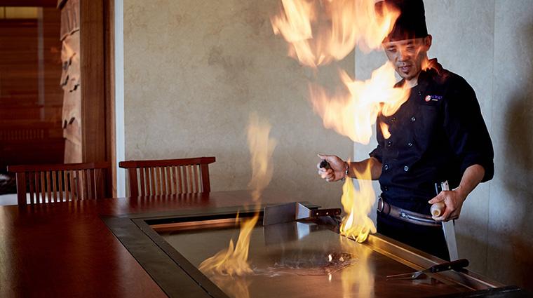Property NobuLanai Restaurant Dining Chef FourSeasonsHotelsLimited