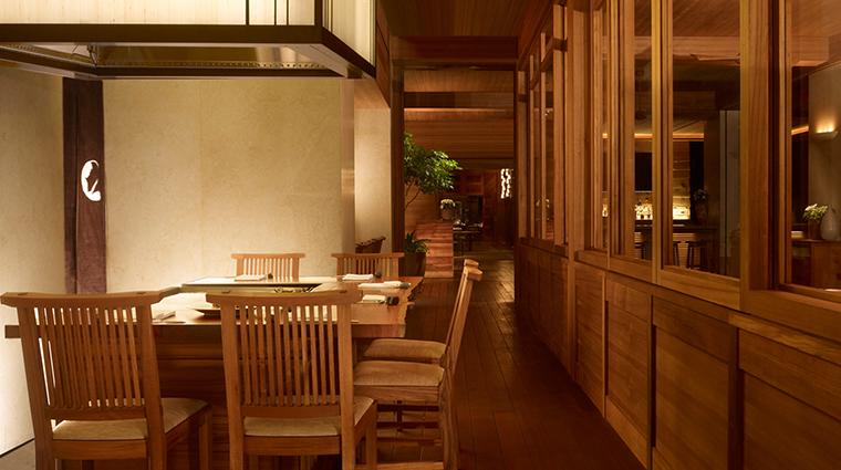 Property NobuLanai Restaurant Dining DiningArea NobuRestaurants