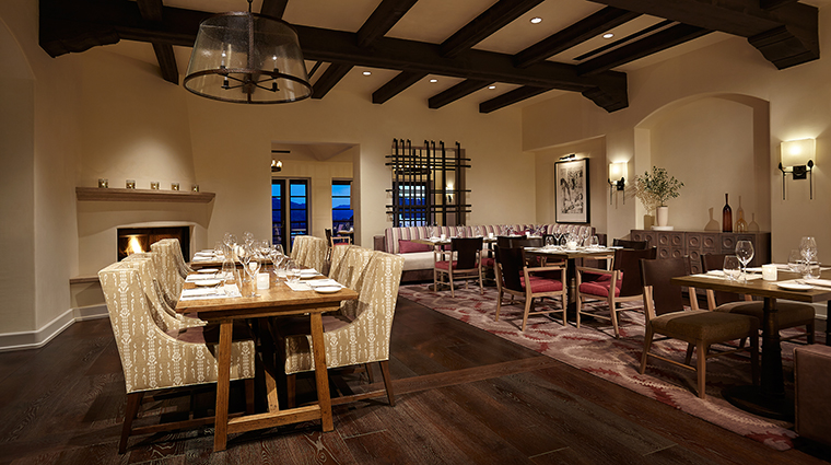 Property Olivella Restaurant Dining MainDiningRoom OjaiValleyInn&Spa