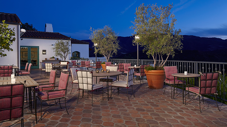 Property Olivella Restaurant Dining Terrace OjaiValleyInn&Spa