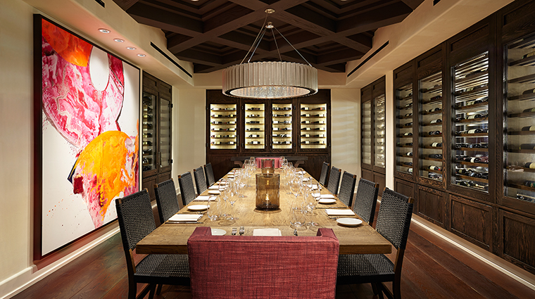 Property Olivella Restaurant Dining Wineroom OjaiValleyInn&Spa