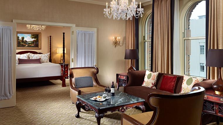 Property OmniSanFrancisco Hotel GuestroomSuite PresidentialSuiteLivingRoom OmniHotels