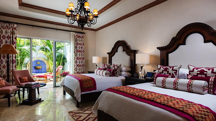 Property One&OnlyPalmilla Hotel GuestroomSuite VillaCortezDoubleBedRoom One&OnlyResorts