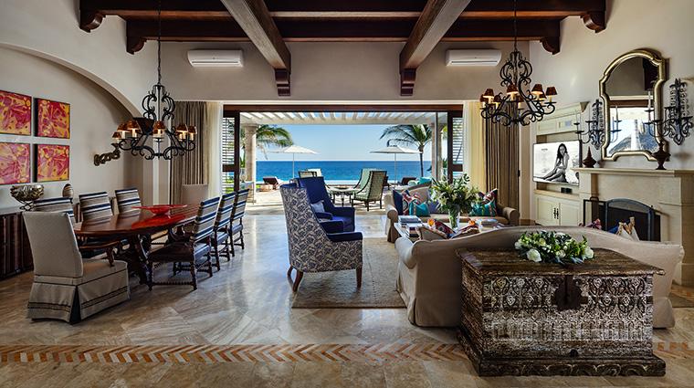 Property One&OnlyPalmilla Hotel GuestroomSuite VillaCortezLivingRoom One&OnlyResorts