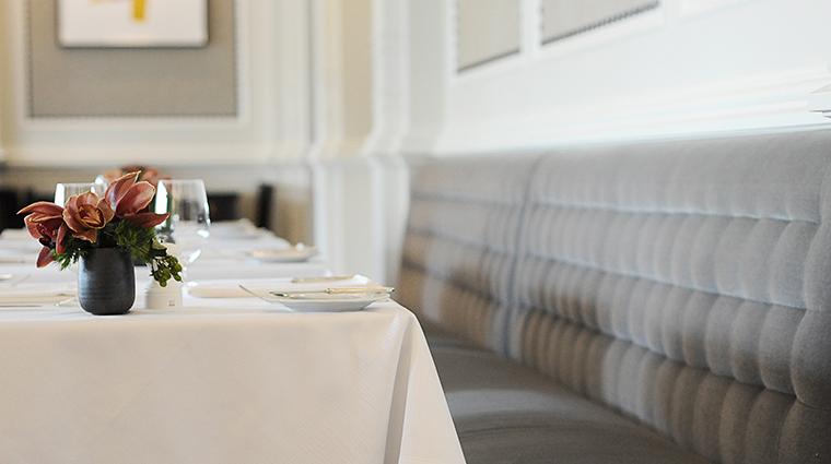 Property OneElevenatTheCaptial Restaurant Dining TableSetting TheCapitalHotel
