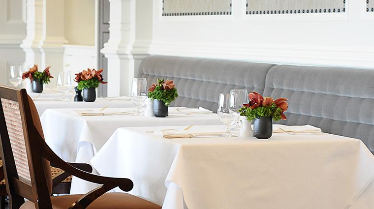 Property OneElevenatTheCaptial Restaurant Dining TableSetting4 TheCapitalHotel