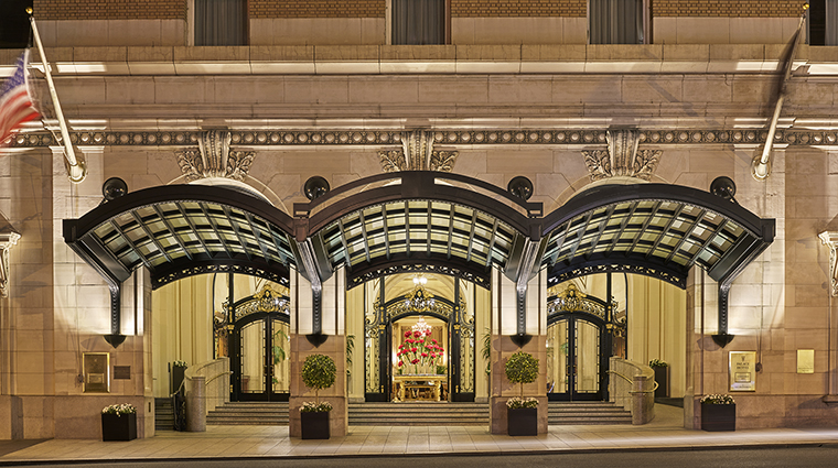 Property PalaceHotel Hotel Exterior PorteCochere StarwoodHotels&ResortsWorldwideInc