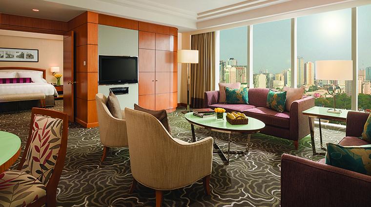 Property PanPacificManila Hotel GuestroomSuite DeluxeKing PanPacificHotelsandResorts